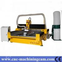 Buy cheap 4th axies cnc router machine for carving stone ZK-1325(1300*2500*300mm) from wholesalers