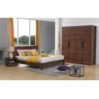 Buy cheap 2016 New Nordic Design Bedroom Furniture Sets in Queen/King size Bed with from wholesalers