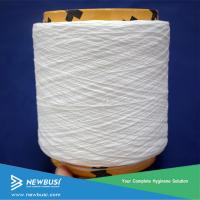 Buy cheap Spandex Covered Yarn and Elastic Spandex/Cotton Yarn For Adult Baby Diaper from wholesalers