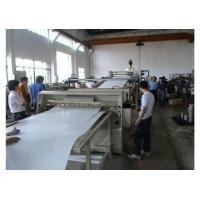 Buy cheap PP / PE Plastic Sheet Extrusion Machine , Bathroom / Refrigerator Sheet Machinery from wholesalers