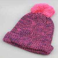 Buy cheap custom winter hats with pom poms,beanie knitted hat,custom knitted pom beanie hat from wholesalers