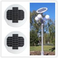 China 12 Volt 150W Circle Solar Panel Aluminum Alloy Frame For Outside Led Lamps on sale