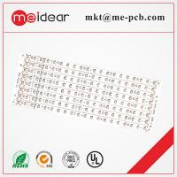 Buy cheap PCB Professional aluminum base single sided pcb board for led light with White mask from wholesalers