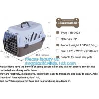Buy cheap Transport Box Pet Air Box Travel Carrier Cages Portable Plastic Dog Carrier, Dog Box Cages------Durable Plastic Aviation from wholesalers