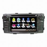 Buy cheap 6.2-inch Toyota Hilux 2012 GPS Navigator, w/ Built-in DVD/Radio/Bluetooth/3G Port, 12 Month Warranty from wholesalers