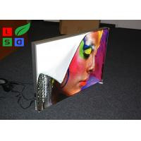 Buy cheap 28mm Depth Thin LED Fabric Light Box On / Off Switch For Art Show And Exhibition from wholesalers