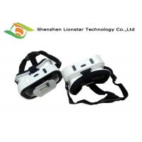 Buy cheap Black And White Virtual Reality Headset Phone Goggles For Watching 3D Movie / 3D Games from wholesalers