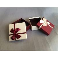Buy cheap Luxury food candy paper gift packaging box with colorful ribbon from wholesalers