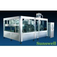 Buy cheap Stainless Steel Tea Filling Machine 3-In-1 Monoblock With 7000BPH from wholesalers