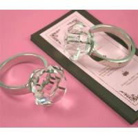 China Crystal Glass Napkin Ring (Crystal Decoration Craft) (JD-CJH-002) on sale