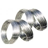 Buy cheap 301 302 303 304 Stainless Steel Spring Wire , Custom Dimension Straight Spring Steel Wire from wholesalers