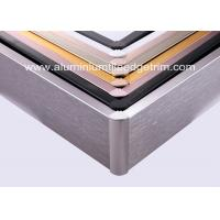Buy cheap Anti Corrosion Brushed Aluminium Skirting Board For Curved Wall Decoration from wholesalers