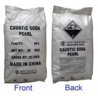 Buy cheap Manufacturing of white Caustic soda pearls 99% NaOH for soap making from wholesalers