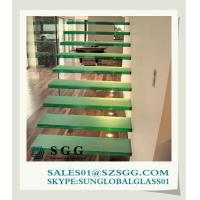 Buy cheap High quality Tempered Glass Stair Treads from wholesalers
