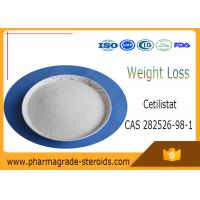 Buy cheap CAS 282526-98-1 Pharmaceutical Raw Materials Cetilistat C25h39no3 for Fat Loss from wholesalers