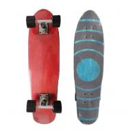 Buy cheap Customized Plastic Penny Skateboard Red And White Penny Board from wholesalers