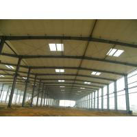 Buy cheap Steel Structure Framed Commercial Office Building Workshop, Structural Steel Frame Prefab Construction with Drawing from wholesalers