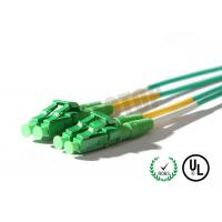 Buy cheap 3mm Plastic Optical Fiber Cable Single Mode Plastic / Metal Housings from wholesalers