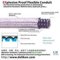 Metallic overbraided flexible liquid tight steel conduit,DELIKON BRAIDED LIQUID TIGHT CONDUIT