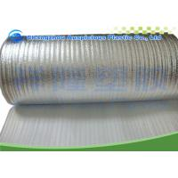 Buy cheap Single Sided Foil Backed Bubble Wrap , Heat Protection Double Bubble Foil Insulation from wholesalers