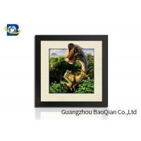 Buy cheap Custom 5D Pictures Lenticular Deer Animal Pattern 40*40cm Size Sawtooth Hangers Mounting from wholesalers