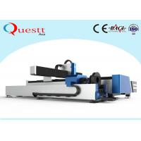 Buy cheap 500W Metal Laser Cutter , Pipe Laser Cutting Machine For Sheet / Round Square Pipe from wholesalers