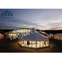 Buy cheap Customized Color Outside Event Tents With Double PVC Coated Polyester Textile from wholesalers