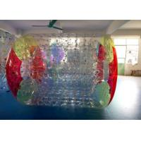 Buy cheap 0.7 mm TPU Inflatable Water Roller Zorb Ball , Inflatable Toys For Swimming Pools from wholesalers