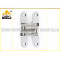 Buy cheap Furniture Hardware Zinc Alloy Soss Invisible Hinges , Wardrobe Door Hinges from wholesalers