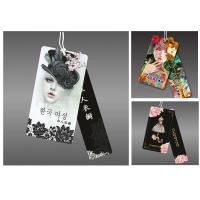 Buy cheap Custom full color printed paper card garment clothing swing hang tag from wholesalers