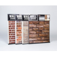 Buy cheap Bedroom PVC 3D Foam Brick Wall Decoration Sheet Easy To Clean from wholesalers