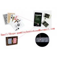 Buy cheap KEM plastic edge marked playing cards for poker analyzer/gamble cheating device/side marked cards/poker scanner from wholesalers