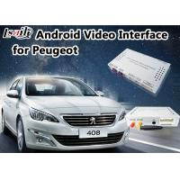 Buy cheap Android 6.0 Auto Interface for Peugeot 408 MNR SMEC+ with Online map Google/ waze from wholesalers