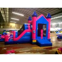 Buy cheap Happy Slide Tunnel PVC Inflatable Jumping Crayons Tent, Bouncer Castle Combo for kids from wholesalers