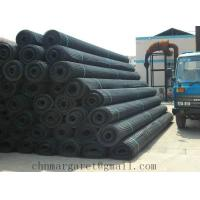 Buy cheap Warp knitted polyester geogrid with PVC coating product