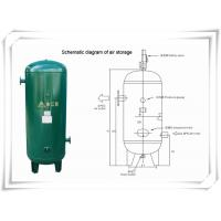 Buy cheap Screw Portable Rotary Compressed Air Receiver Tank Replacement Low Pressure from wholesalers