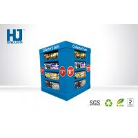 Buy cheap Glossing DVD Cardboard Display Stand Eye-Catching Film For Advertising from wholesalers
