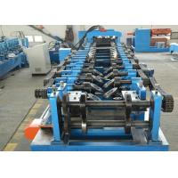 Buy cheap 16Mpa Pressure CZ Purlin Roll Forming Machine Fully Automatic Changing Sizes product