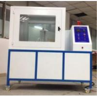 Buy cheap ISO 8142 Flammability Testing Equipment Thermal Insulation Materials PLC Module Control Part from wholesalers