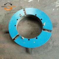 Buy cheap Professional Casted Iron Material Gripper Welding Positioner Chuck Three Jaw product