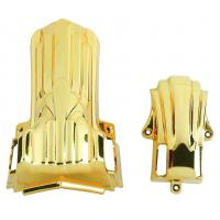 Buy cheap 18K Gold Color Coffin Corner Eco Friendly For Funeral Coffin And Casket Handle from wholesalers
