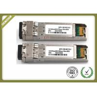 Buy cheap 10G SM Duplex Sfp Transceiver Module Compatible Cisco SFP-10G-LR from wholesalers