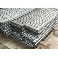 Buy cheap Galvanized Steel / Aluminum Perforated Metal Stair Treads With Diamond Holes from wholesalers