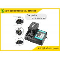 Buy cheap DC18RC Power Tool Batteries Charger Fast Charging For Li-Ion 7.2V -18V Li Ion Cell product