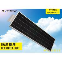 Buy cheap 20 Watt LED Power Integrated Solar Street Light Electricity Saving 2100 - 2200lm from wholesalers