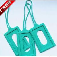 Buy cheap silicone luggage tag , silicone luggage p brand ,silicone luggage tag case product