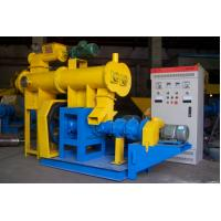 Buy cheap Horizontal Floating Fish Feed Making Machine With 200-2000kg Easy Operation from wholesalers