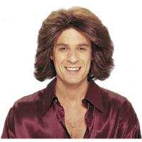 Buy cheap Fashion PVC male wigs for head display on sale from wholesalers