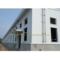 Industrial Construction Workshop Steel Structure Buildings Hot Dip Galvanised