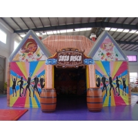 Buy cheap Advertising PVC Tarpaulin 8X6m Inflatable Bubble Tent from wholesalers
